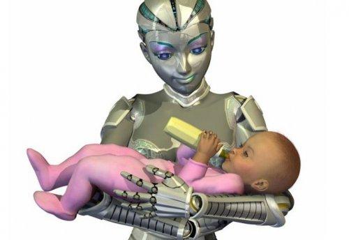 2030 Yılında Çocukları Robotlar Büyütecek!