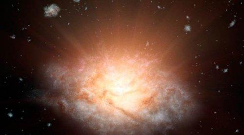 Güneşten 300 Trilyon Kat Daha Parlak Galaksi Keşfedildi!