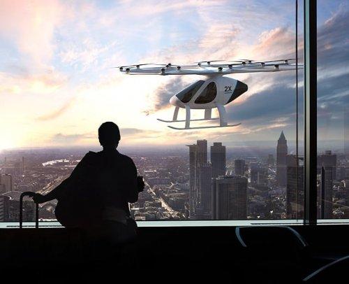 Uçan Taksi Girişimi Volocopter Singapur'da Test Edilmeye Hazırlanıyor